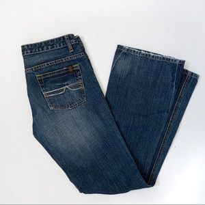 Buffalo David Bitton PINK Slim Bootcut Jeans 29